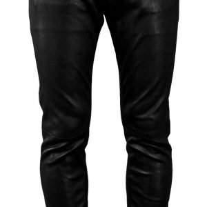Cool slim fit hippie leather pant for men