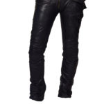Vintage Moto Lambskin leather pant for men