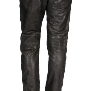 Rambunctious and classy leather pant