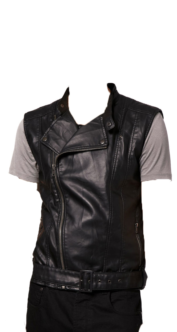 Wholesale Mens Sleeveless Denim Jacket