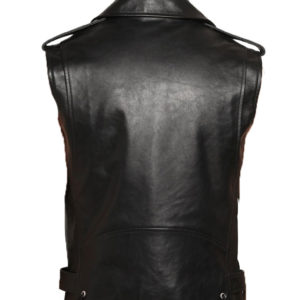 Stylish Super stud leather vest for men