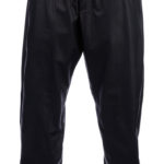 Easygoing and funky baggy leather pant