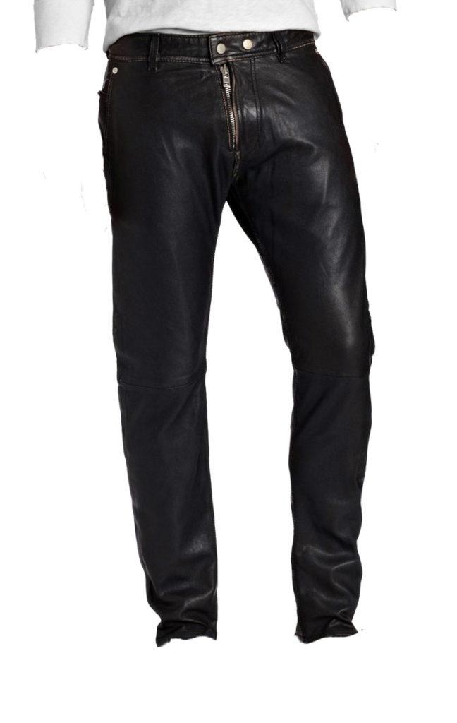 Fantabulous and stylish leather pant for men