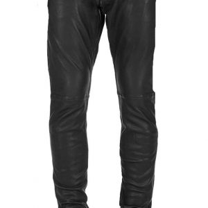 Vivacious and ultra-modern leather pant