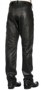 Free fit leather pant for men
