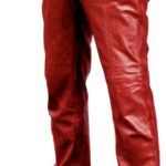 Popular leather pant for men