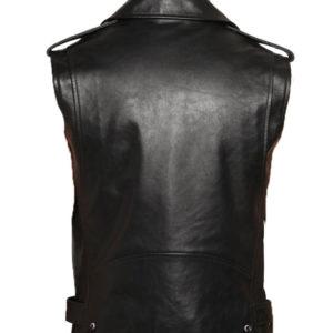 Stylish Super stud leather vest for men
