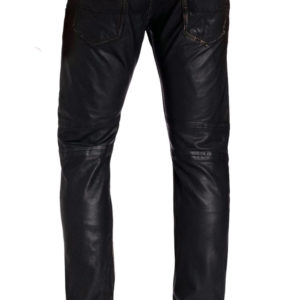 Fantabulous and stylish leather pant for men